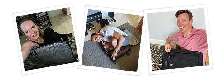 Innolympics - Innovid Employees - Suitcases