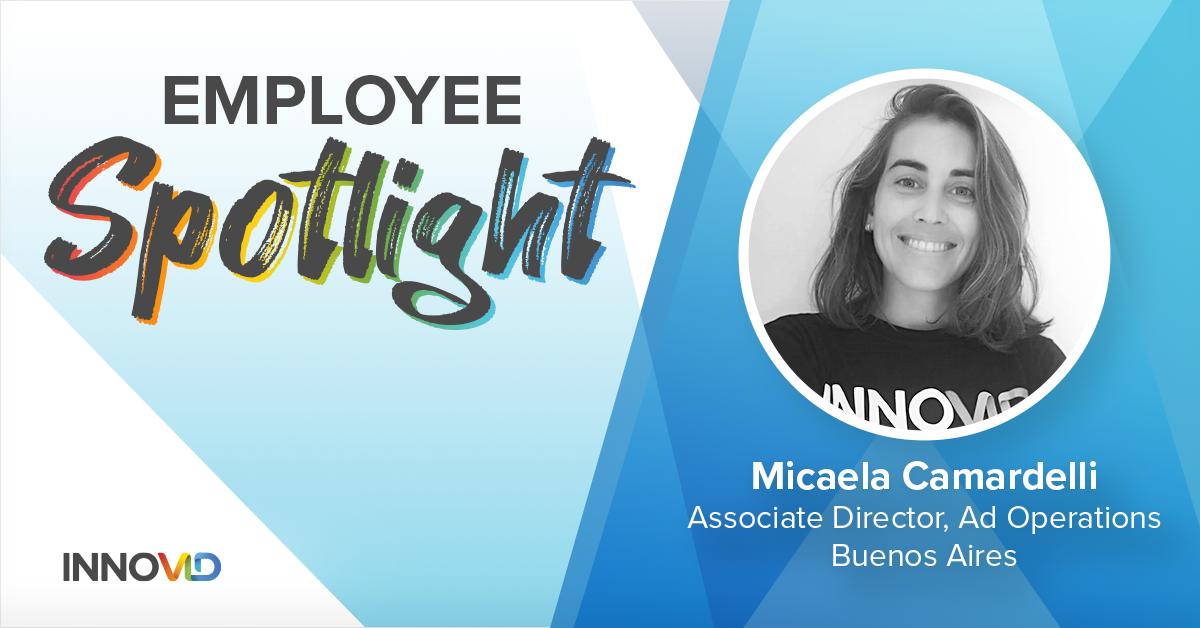 Micaela Camardelli, Associate Director of Ad Operations, Innovid