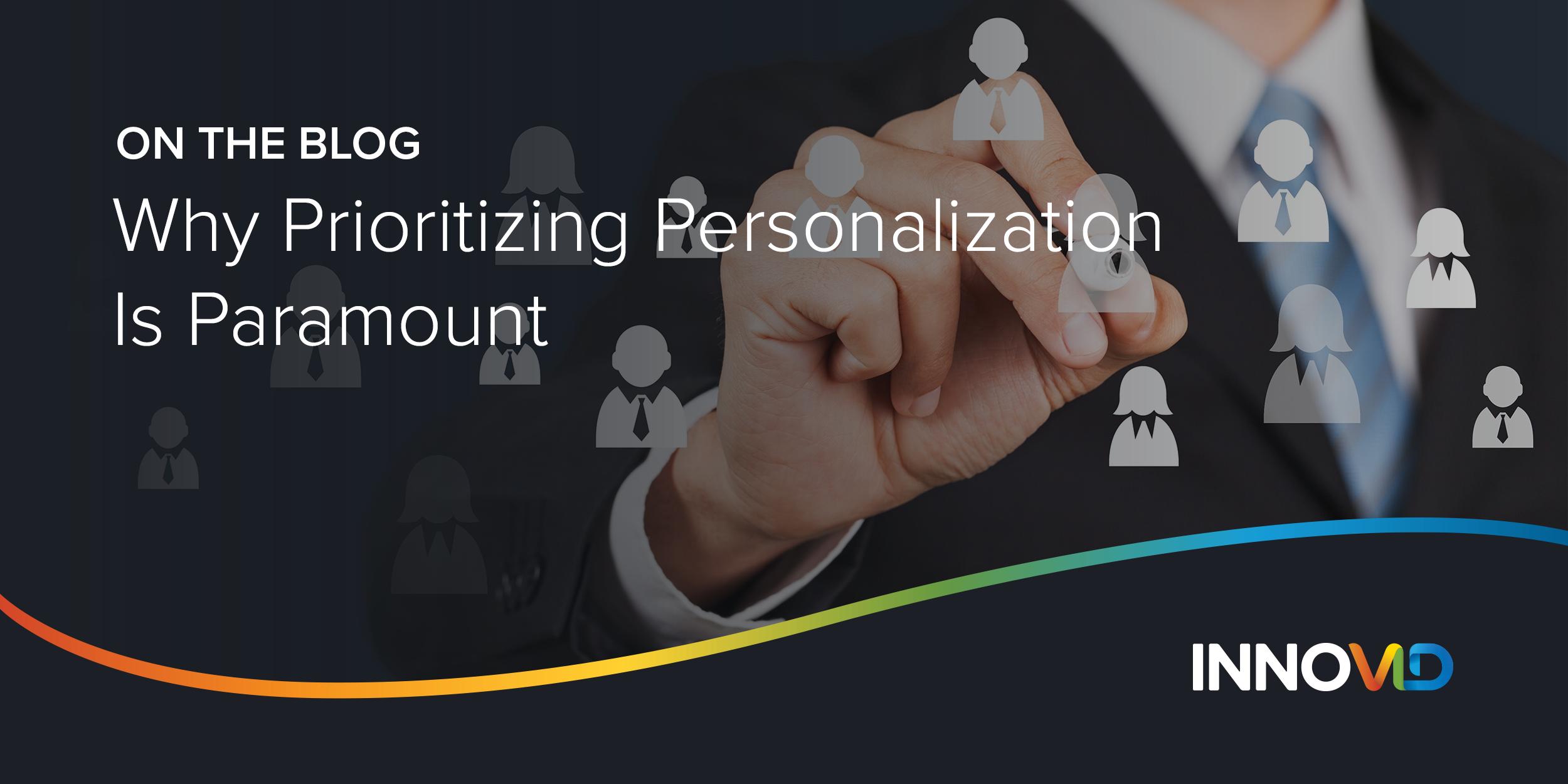 Personalization Header